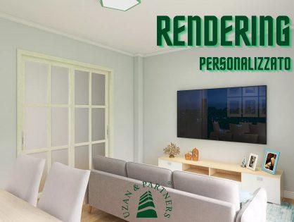 PISTA DI LANCIO DEL RENDER/RENDERING 3D